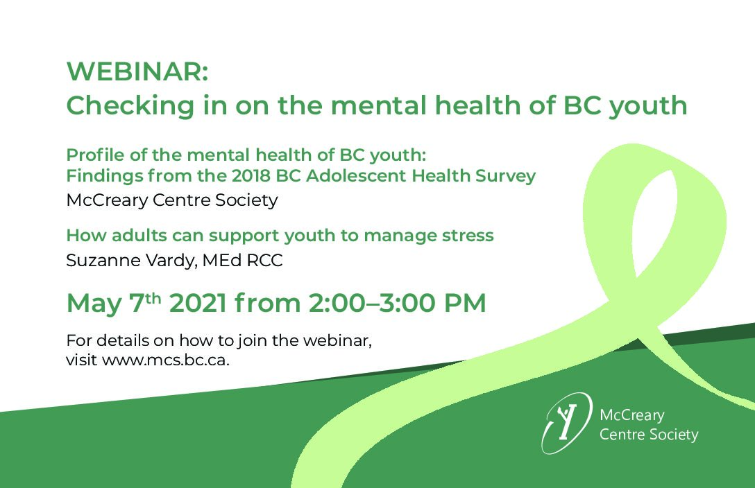Checking In on the Mental Health of BC Youth